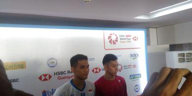 Indonesia Open 2019 - Fajar/Rian Akui Sempat Terbawa Permainan Musuh