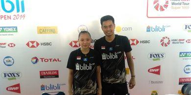 Indonesia Open 2019 - Owi Sebut Strategi Mainnya dengan Winny Berhasil