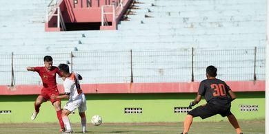 Timnas U-19 Indonesia Menang Tipis atas Deltras Sidoarjo