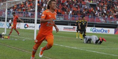 Hujan Gol, Borneo FC Menangi Laga Derbi Kalimantan Kontra Barito Putera
