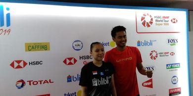 Indonesia Open 2019 - Meski Tersingkir, Richard Mainaky Puas dengan Winny