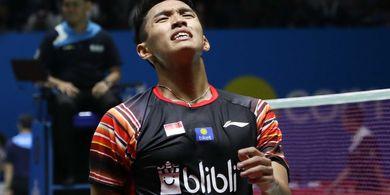Indonesia Open 2019 - Jonatan Bersyukur Masih Didukung Publik Istora