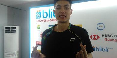 Indonesia Open 2019 - Chou Tien Chen Anggap Fans Jonatan Christie Itu Lucu
