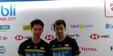 Indonesia Open 2019 - Marcus/Kevin Mengaku Lebih Siap Antisipasi Zhang Nan dengan Tandem Barunya