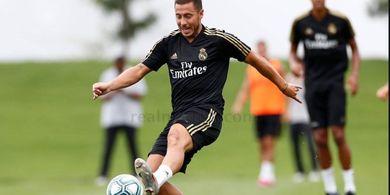 Hengkang ke Real Madrid, Hazard Bahagia Tak Harus Melawan Van Dijk