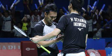 Hasil Japan Open 2019 - Ahsan/Hendra Sukses Melaju ke Babak Kedua