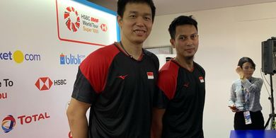 Indonesia Open 2019 - Ahsan/Hendra Doakan Terjadi All Indonesian Final