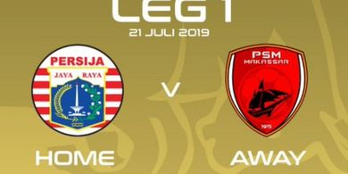 Link Live Streaming Final Piala Indonesia, Persija Vs PSM Makassar
