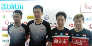 Menjuarai Indonesia Open 2019,  Marcus/Kevin Akui  Banyak yang Ingin Mengalahkan Mereka