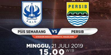 Link Live Streaming PSIS Semarang Vs Persib Bandung