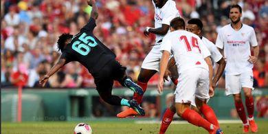 3 Pemain Liverpool Hampiri Bek Sevilla yang Tekel Yasser Larouci Pasca-Laga