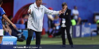 Gagal di Piala Dunia, Timnas Brasil Berpisah dengan Pelatih Mereka