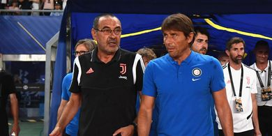 Sembuh dari Flu, Sarri Siap Dampingi Juventus di Pekan Perdana Liga Italia