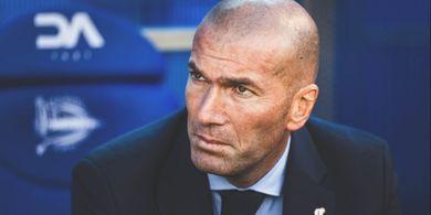 Real Madrid Cuma Imbang, Zidane Mengeluh Timnya Susah Cetak Gol
