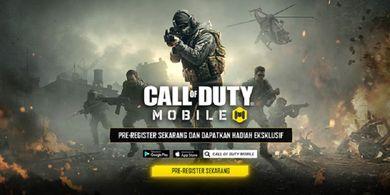 Pra Registrasi Call of Duty® Mobile - Garena Telah Dibuka
