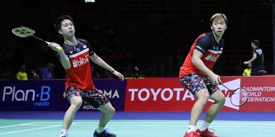 Hasil China Open 2019 - Marcus/Kevin Kalahkan Finalis Kejuaraan Dunia