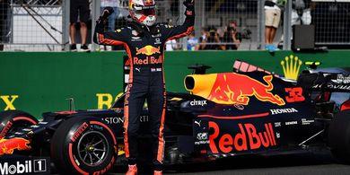 Hasil P1 GP Singapura 2019 - Tercepat, Vertappen Buka Asa Red Bull