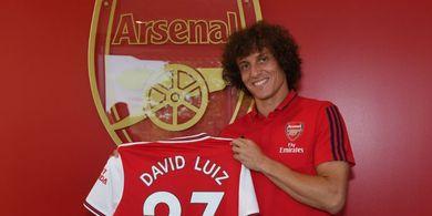 Lakukan Blunder Fatal, David Luiz Dianggap Tak Pantas Jadi Bek Arsenal