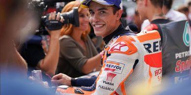 Marc Marquez Optimistis Raih Kemenangan pada MotoGP Inggris 2019