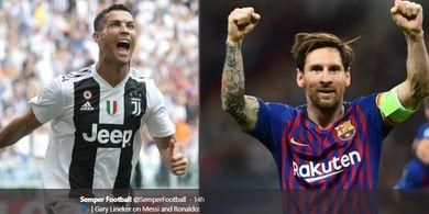 Momen yang Bikin Cristiano Ronaldo 'Bete' dengan Lionel Messi