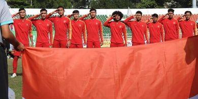 Brylian Aldama Meminta Maaf atas Kegagalan Timnas U-18 Indonesia di Piala AFF U-18 2019