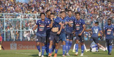 Kalahkan Barito Putera, Arema FC Perpanjang Catatan Positif di Liga 1 2019