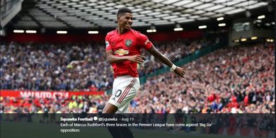 VIDEO - Kecerobohan Rashford Bikin Manchester United Kalah