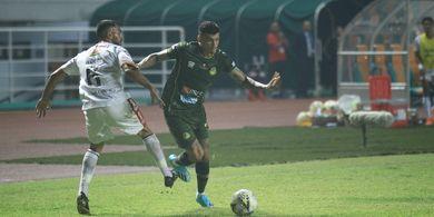 Bek Bali United Mengaku Kepayahan Jaga Ciro Alves