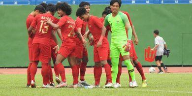 SEDANG BERLANGSUNG Link Live Streaming Piala AFF-18, Timnas U-18 Indonesia Vs Myanmar