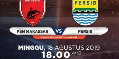 Link Live Streaming PSM Makassar Vs Persib Bandung