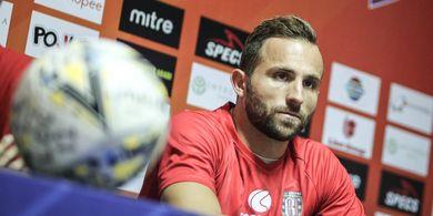 Ilija Spasojevic Beri Jawaban Kenapa Belum Berangkat TC Timnas Indonesia tapi Latihan Bersama Bali United
