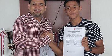 Bukan AFC Tubize, Firza Andika Resmi Merapat ke Tim Liga 1 Ini