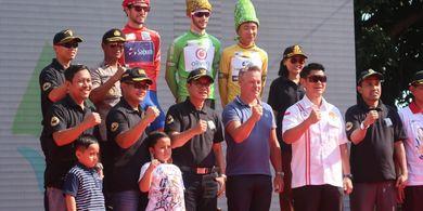 Daftar Peraih Jersey Etape Pertama Bank BRI Tour d'Indonesia 2019