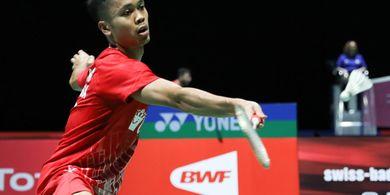 Hasil China Open 2019 - Anthony Ginting Lewati Adangan Pertama