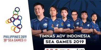 EVOS.AOV, Tim Nasional Indonesia di SEA Games 2019 Untuk Cabang Olahraga AOV