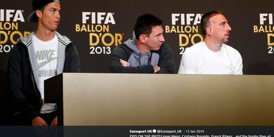 Musuh Juventus Selangkah Lagi Rekrut Pesaing Berat Ronaldo di Ballon d'Or