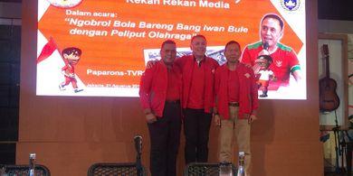 Kolaborasi Polri dan TNI untuk Jadi Ketua Umum dan Waketum PSSI