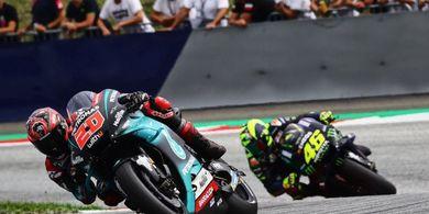 Hasil FP1 MotoGP Inggris 2019 - Quartararo Tercepat, Rossi Ketujuh