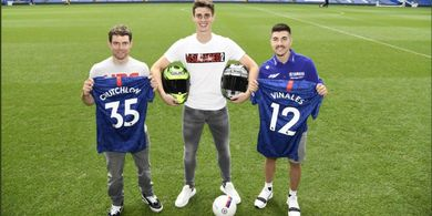 Dua Rider MotoGP Jumpai Bintang Chelsea Jelang MotoGP Inggris 2019