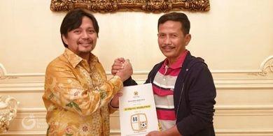 Kenal Sejak Galatama, Djadjang Nurdjaman Kepincut Latih Barito Putera