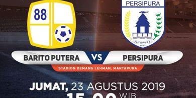 Link Live Streaming Barito Putera Vs Persipura, Duel Pekan ke-16 Liga 1 2019