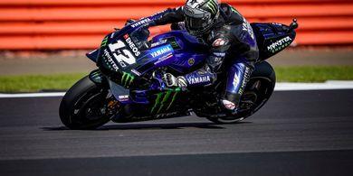 Maverick Vinales Tak Puas dengan Top Speed Yamaha di Silverstone