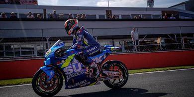 Rins Tak Percaya Menangi Balapan MotoGP Inggris 2019 dengan Dramatis