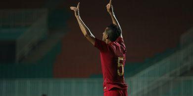 Dutra Cetak 1 Gol, Timnas Indonesia Menang 4-0 atas Persika Karawang