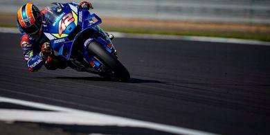 MotoGP Inggris 2019 - Rins Tak Percaya Kalahkan Marquez di Detik Akhir