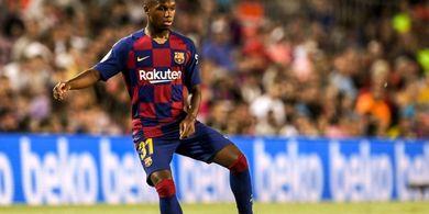 Bocah 16 Tahun Barcelona Enggan Tinggalkan Lapangan Usai Debut