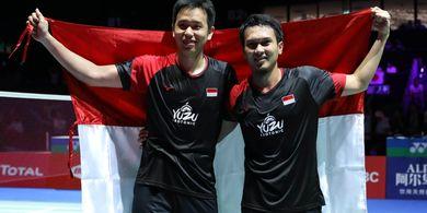 Kejuaraan Dunia 2019 - Ahsan/Hendra Tak Menyangka Raih Medali Emas