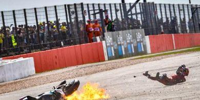 Soal Insiden dengan Dovizioso, Quartararo Salahkan Alex Rins