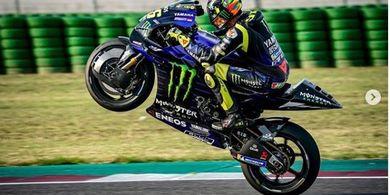 Alami Crash di Motegi, Yamaha Bersyukur Valentino Rossi Tak Cedera