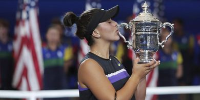 Cetak Sejarah, Gadis Pemenang US Open 2019 Diabadikan Jadi Nama Jalan